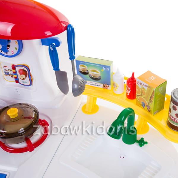 WIELKA INTERAKTYWNA KUCHNIA NA BATERIE Z WODĄ  Zabawkidoris -> Interaktywna Kuchnia Little Tikes Nauka Gotowania