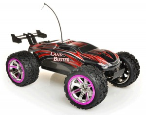 Auto na radio land buster racing 2.4G r/c 4wd